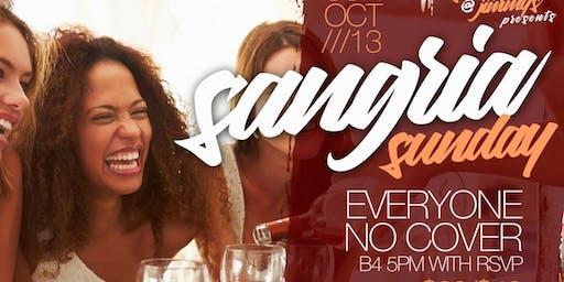 Sangria Sunday's