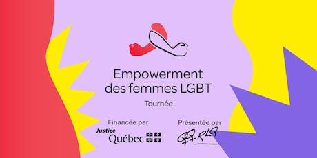Empowerment des femmes LGBT  billets