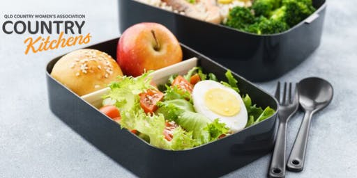QCWA Country Kitchens Workshop: Japanese Bento Box