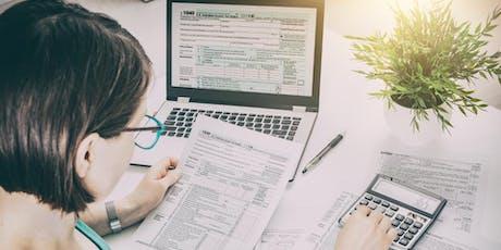 ¡La preparación de impuestos ahora es más fácil de lo que piensas! tickets