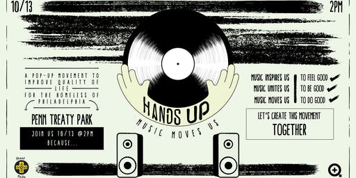 HANDS UP: An Event to Benefit Philadelphia's Homeless Population
