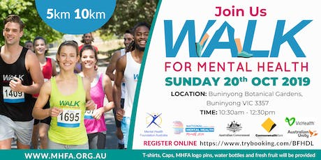 Walk for Mental Health - Ballarat tickets