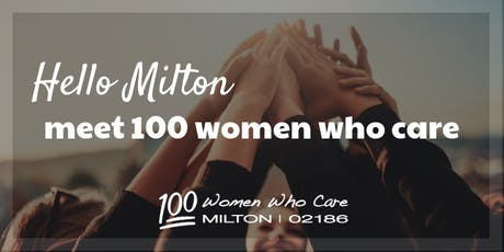 100 Women Who Care Milton - January Event tickets