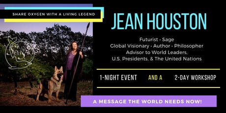 Jean Houston Back at Seaside Center for Spiritual Living tickets