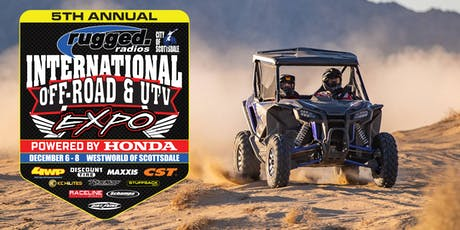 5th Annual International Off-Road & UTV Expo tickets