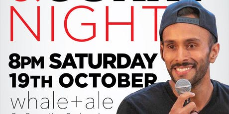 COMEDY AT THE WHALE AND ALE tickets