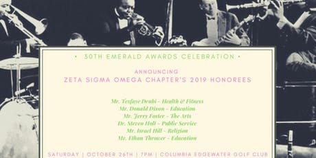 """30th Emerald Awards Celebration A Night at the Emerald Club - """"Celebration of Past & Present"""" tickets"""