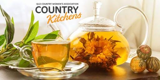 QCWA Country Kitchens Workshop: Japanese Tea Tasting