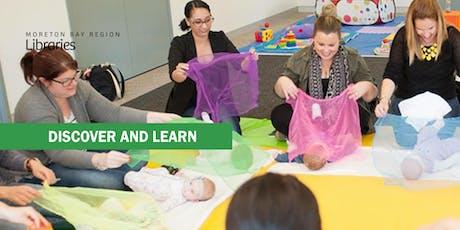 Baby Sensory Class - Bribie Island Library tickets