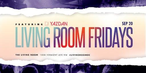 LR Fridays with DJ Yazdan