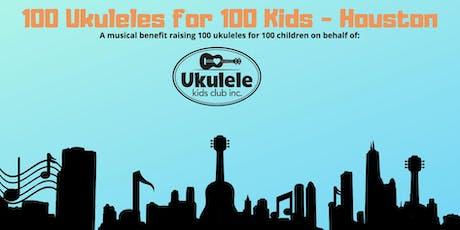 100 Ukuleles for 100 Kids - Houston tickets