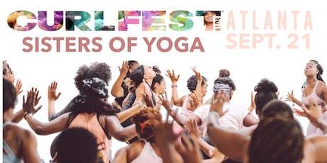 Sisters of Yoga X Curlfest Yoga Class tickets