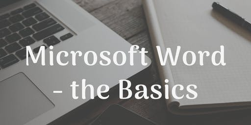 Microsoft Word - the Basics