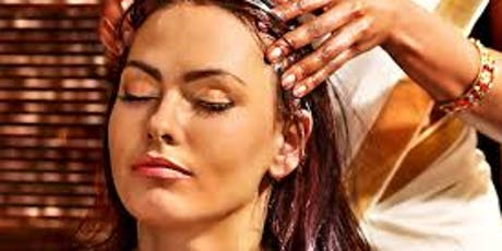 Traditional Head/Face Massage Class with Essential Oils tickets