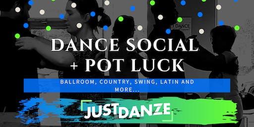 Dance Social and Pot Luck