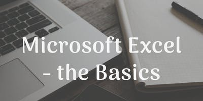 Microsoft Excel - the Basics