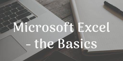 Microsoft Excel - the Basics