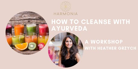 How to Cleanse with Ayurveda tickets