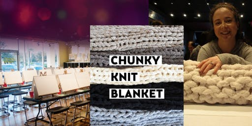 Chunky Knit Blanket with Sunday's Bar Specials - Bottomless Mimosas