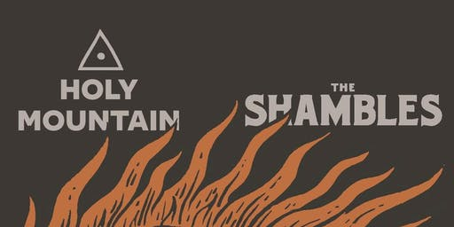 The Shambles Presents: Dinner with Holy Mountain & Hama Hama
