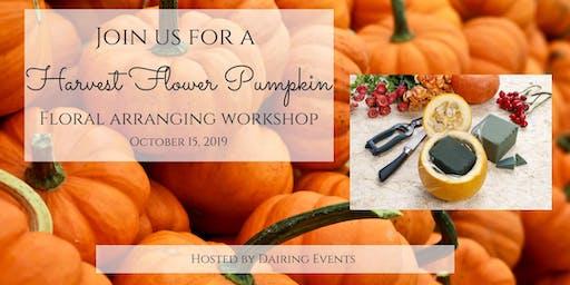 Harvest Floral Pumpkin Workshop