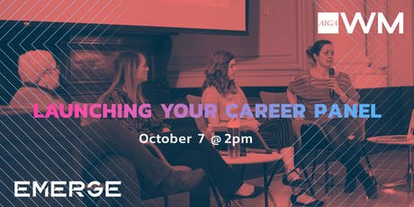 EMERGE: Launching Your Career Panel tickets
