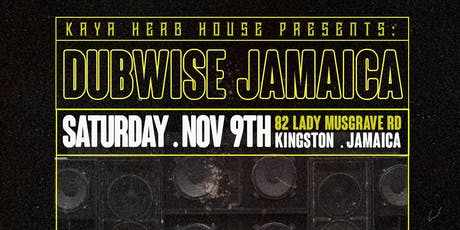 Dubwise Jamaica tickets