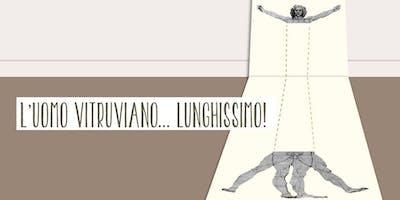 Festival Del Disegno - L'uomo vitruviano lunghissimo!