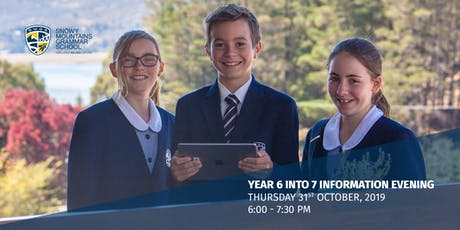 Year 6 into 7 Information Night tickets