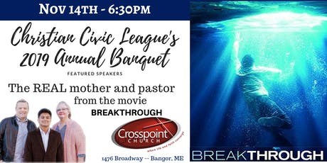 Christian Civic League's Annual Event at Crosspoint Church tickets