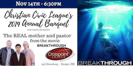 Christian Civic League's Annual Event at Crosspoint Church