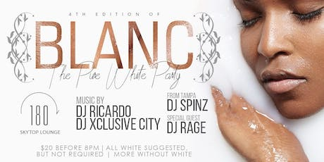 Voila Presents BLANC: The PURE WHITE PARTY  4th Edition tickets