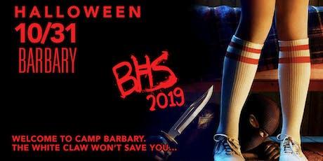 Halloween 2019 - Barbary Horror Story tickets