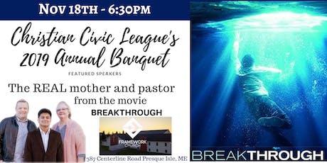 Christian Civic League's Annual Event at Framework Church tickets