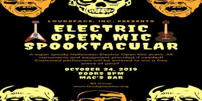 Electric Open Mic Spooktacular