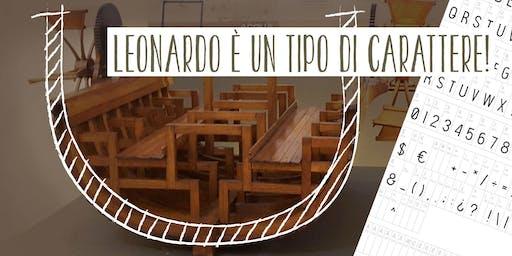 Festival Del Disegno - Leonardo è un tipo di carattere!