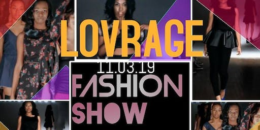Lovrage brand apparel present:  Dimensions fashion and art show