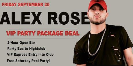 ALEX ROSE - Friday - 09-20-2019 tickets