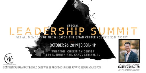 Wheaton Christian Center Leadership Summit