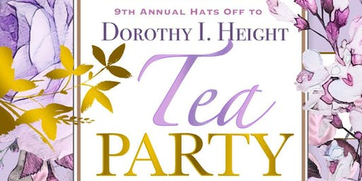 9th Annual Hats Off to Dorothy I Height Tea Party