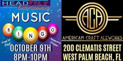 Music Bingo at American Craft Aleworks - West Palm Beach, FL