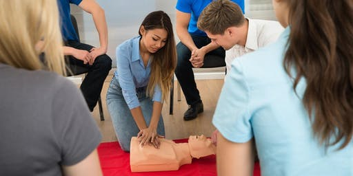 CPR and First Aid Class (Adult & Pediatric)  Every Monday at KSI Loft!