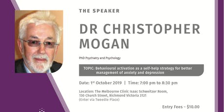Behavioral Activation as a self help strategy for better management of Anxiety and Depression tickets