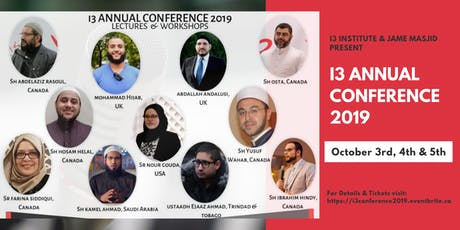 i3 ANNUAL CONFERENCE - FORTIFYING THE MUSLIM MINDS tickets