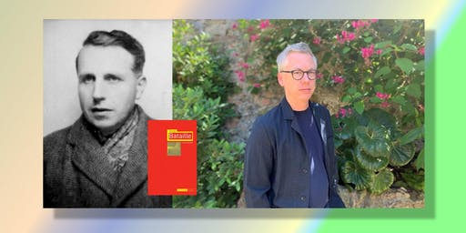 Inside the Magnetic Fields: Surrealism at 100 Festival produced by City Lights Booksellers & Publishing; Georges Bataille with author Stuart Kendall with Mark Calkins