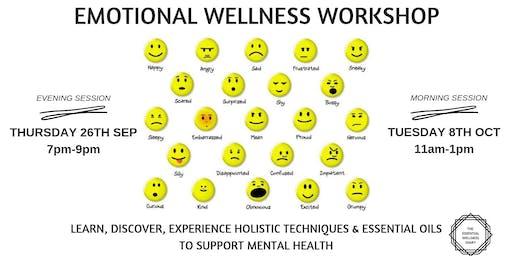 EMOTIONAL WELLBEING WORKSHOP