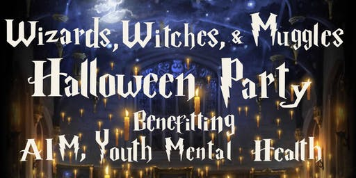 Witches, Wizards & Muggles Halloween Party