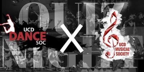 Quiz Night - Dance Soc X Musical Soc tickets