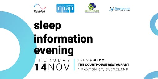 Sleep Disorders Information Evening