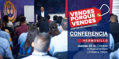 Conferencia Vendes porque Vendes tickets